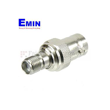 Fairview Microwave  SM4713 SMA Female to BNC Female Adapter (4 Ghz)