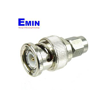 Fairview Microwave SM4718 SMA Male to BNC Male Adapter (4 Ghz)