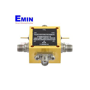 FairviewMicrowave  FMSW2010 SMA PIN Diode Switch SPDT (50 Ohm, 70 MHz - 26.5 GHz, +27 dBm, SMA Female)