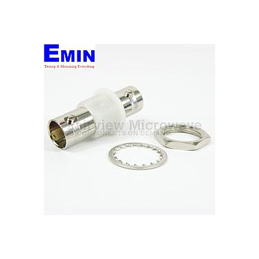 Fairview Microwave SM3426 Bulkhead 75 Ohm BNC Female to BNC Female Adapter (1 Ghz)