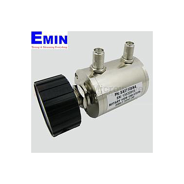 Fairviewmicrowave SA3710SMA  0 to 10 dB Step Attenuator With a 1 dB Step SMA Female Connectors Rated Up To 3 GHz and Up to 2 Watts in a Dial Design