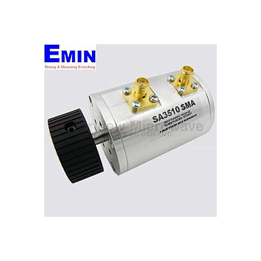 Fairview SA3510 SMA  0.75 to 10 dB Step Attenuator With a 1 dB Step SMA Female Connectors Rated Up To 3 GHz and Up to 2 Watts in a Dial Design