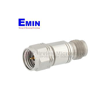 Fairview   SA6510-20  20 dB Fixed Attenuator 1.85mm Male To 1.85mm Female Up To 65 GHz Rated To 1 Watt With Passivated Stainless Steel Body