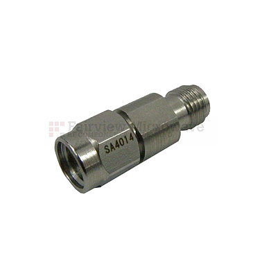 Fairview  SA4014-20 20 dB Fixed Attenuator 2.92mm Male To 2.92mm Female Up To 40 GHz Rated To 1 Watt With Passivated Stainless Steel Body