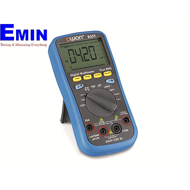 Owon B35T+ Digital Multimeter (True RMS, Bluetooth, 1000V, 20A)