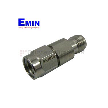 Fairview SA4014-05 5 dB Fixed Attenuator 2.92mm Male To 2.92mm Female Up To 40 GHz Rated To 1 Watt With Passivated Stainless Steel Body