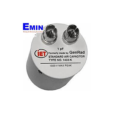 IETLAB GenRad 1403 Series High Frequency Standard Capacitor