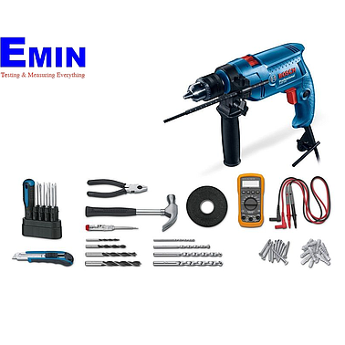 BOSCH GSB 550 Electrican Kit Professional Impact Drill