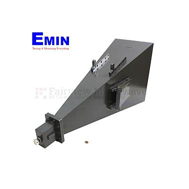 Fairview  SH0204D  Gain Horn Antenna Operating From 2 GHz to 4 GHz With a Nominal 22 dB Typical Gain With 7/16 DIN Female Input Connector