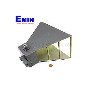 Fairview SH0718N  Gain Horn Antenna Operating From 700 MHz to 18 GHz With a Nominal 10 dB Typical Gain With N Female Input Connector