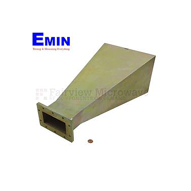 Fairview SH1430-15 WR-430 Standard Waveguide Horn With UG-1711/U Flange and 15 dB Typical Gain Operating From 1.7 GHz to 2.6 GHz Frequency Range