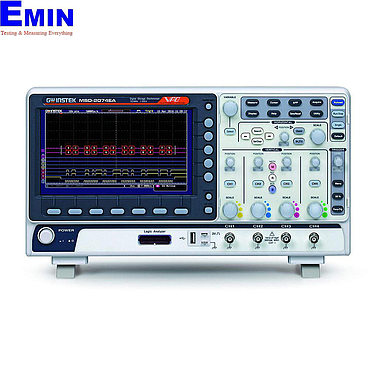 Gwinstek MSO-2204EA mixed-signal oscilloscope (200Mhz, 4+16 channels logic, AWG)