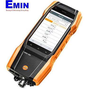 Testo 300 (0633300482) flue gas analyzer with smart-touch operation