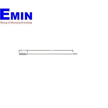 EBRO TPN 140-30 (1341-0415) Rod probe without cable, L = 300 mm, Ø 3 mm, pointed, Lemo