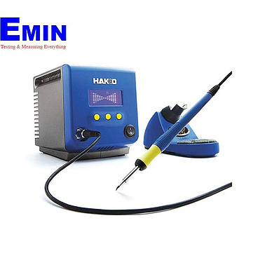 HAKKO FX-100 220V W / 3 Wired Cord But No Plug Soldering Station (28W)