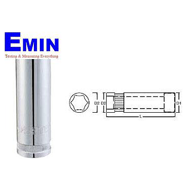 "1/2 ""6 mm long socket 17mm SATA 13-408"