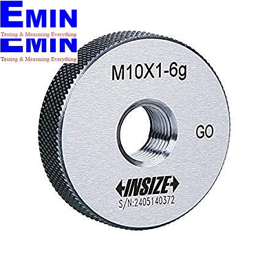 INSIZE 4120-2D6 Metric Thread Ring Gage ((M2.6x0.45mm))