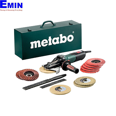 METABO WEVF 10-125 QUICK INOX SET Flat-head angle grinder (2000-7600 rpm)
