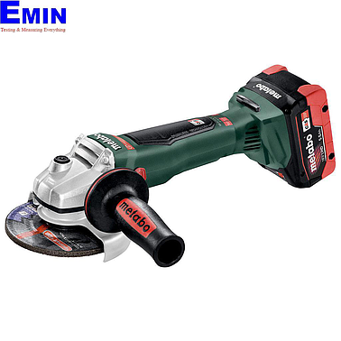METABO WB 18 LTX BL 125 QUICK Cordless angle grinder (9000 rpm)