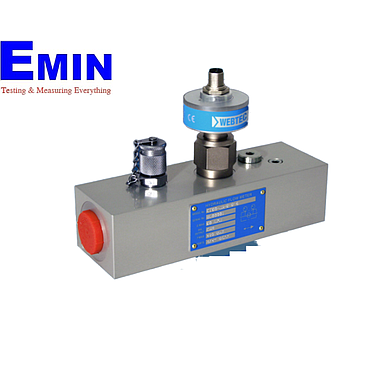 Webtec CT400-mA-B-B-6 Turbine Flow Meter With Conditioned Output (10-400 lpm; 420 bar; 4-20 mA)