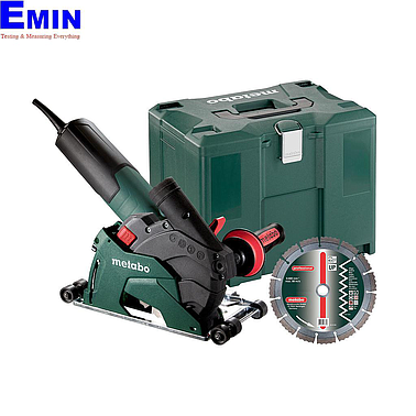 METABO W 12-125 HD SET CED PLUS Diamnond cutting system (9600 rpm)