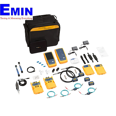 Fluke Network DSX2-8000MI 2GHZ DSX-8000 CableAnalyzer with Multimode OLTS, Fiber Inspection and Wi-Fi