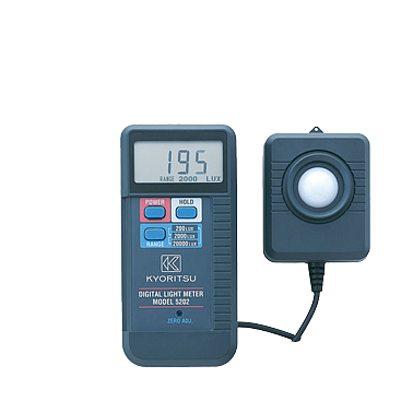 Kyoritsu 5202 Digital Light Meter  (19990 Lux)