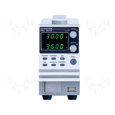 GW instek PSW 30-36 Programmable Switching DC Power Supply (30V, 36A, 360W)